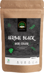 natural skin and hair care herbal black product by GreenTree