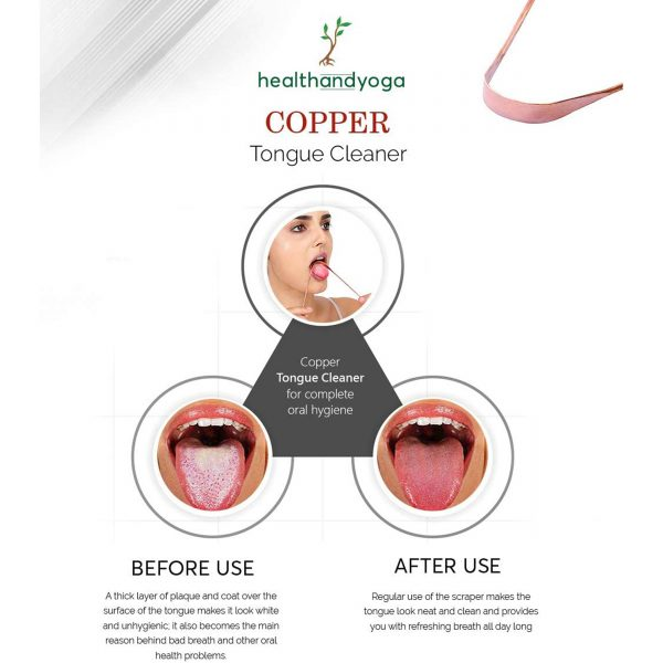 copper tongue cleaner dubai before and after use by GreenTree