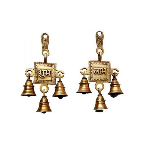 hanging Bells Set for brass home décor dubai By GreenTree
