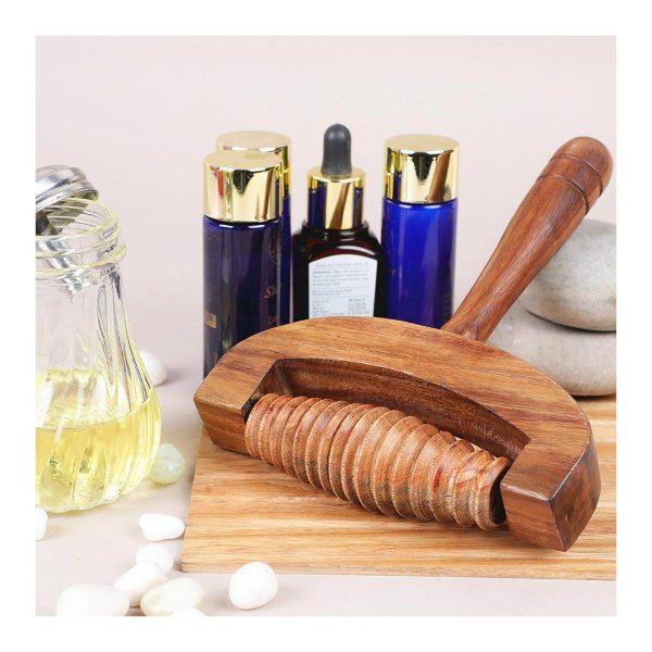 yoga accessories dubai Wooden Limb Massager by GreenTree
