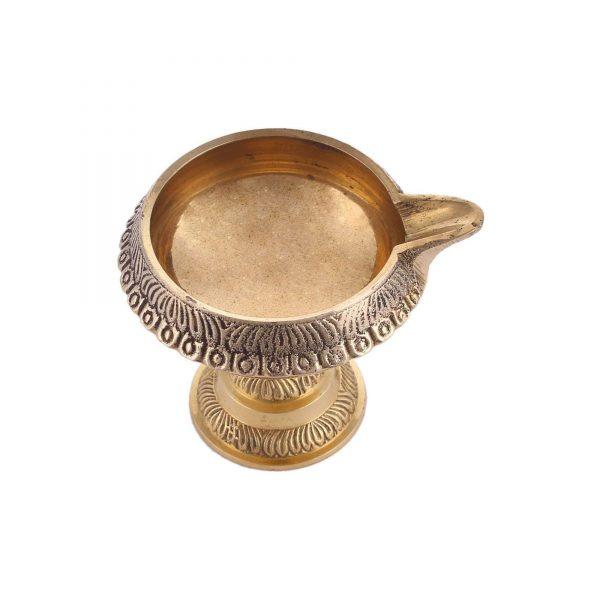 handmade kuber diya lamp for pooja items in abu dhabi by GreenTree