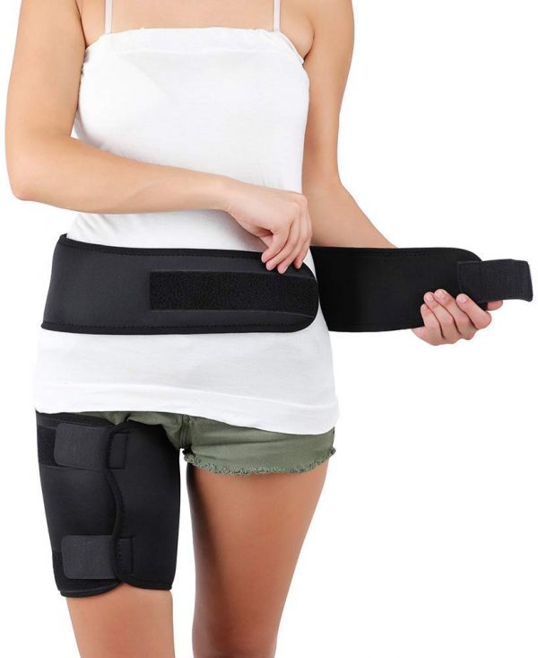 Hip Brace Drytex Pain Releif yoga accessories dubai by GreenTree