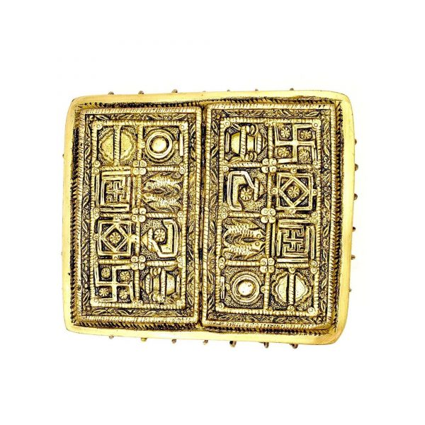 pooja items in abu dhabi brass chowki bells by GreenTree