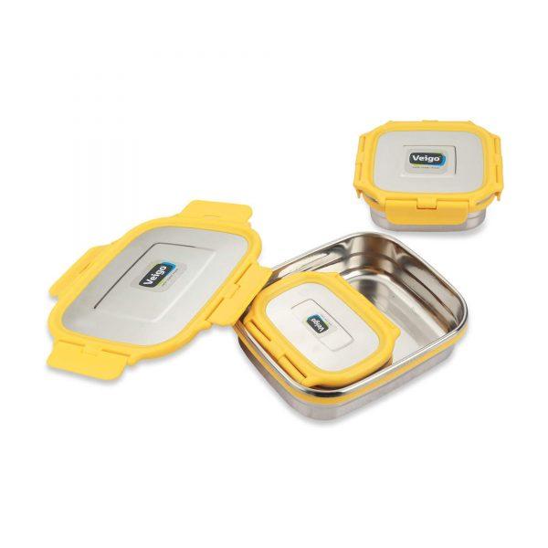 yellow lunch box kitchenware dubai