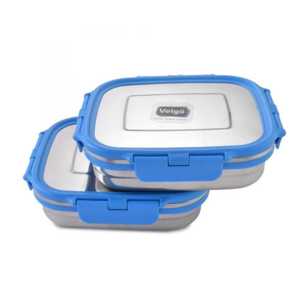 Blue eco friendly lunch box uae by GreenTree