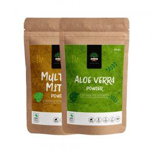 Aloe Vera and Multani Mitti Powder are the best skin care products in dubai