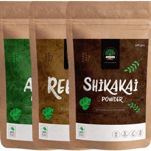 chemical free hair color dubai shikakai powder by GreenTree